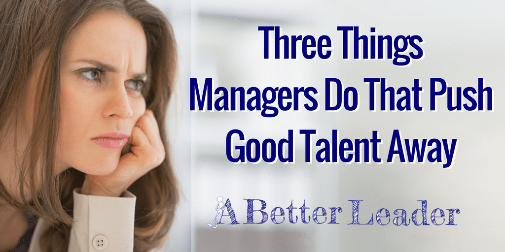 Managers Push Talent