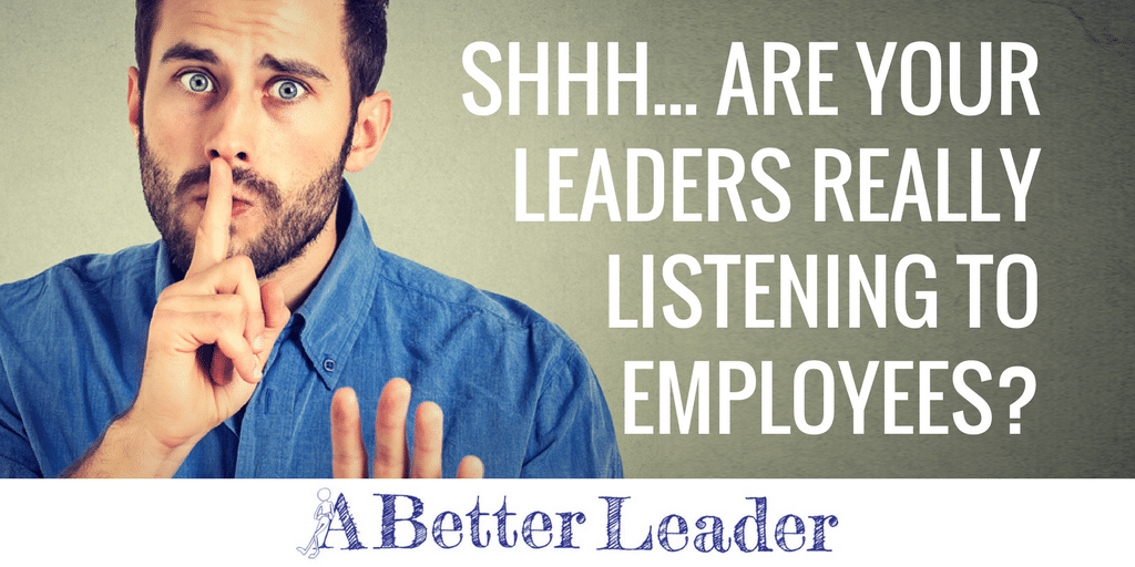 Leadership and Listening