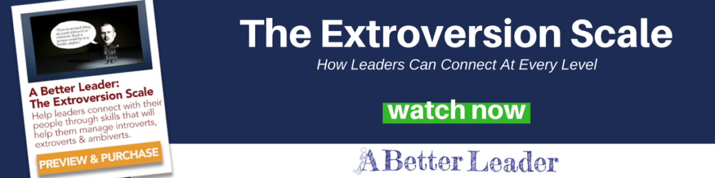 Extroversion Leadership